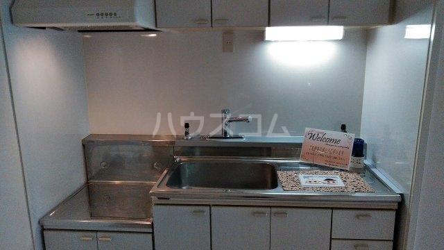 嵯峨野ロイヤルハイツ 405号室のキッチン