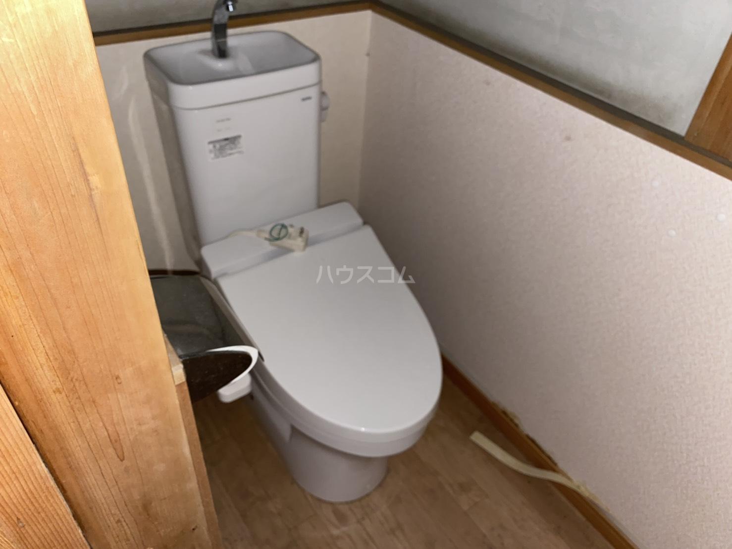 東裏町平屋のトイレ