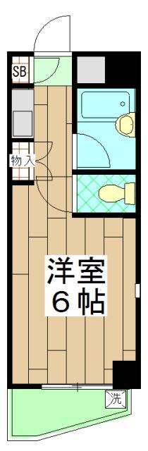 ノアーズアーク京都朱雀 408号室の間取り