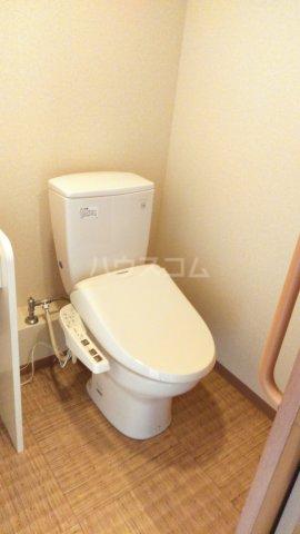 嵐山グランツガルテン 202号室のトイレ