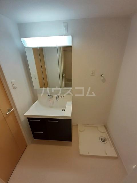 エテルノ貝塚A 01020号室のトイレ