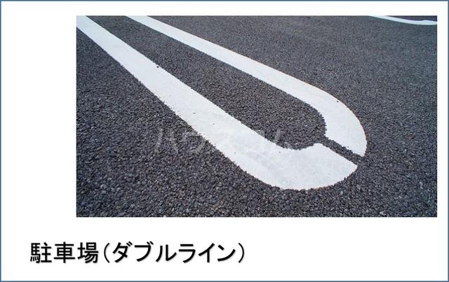 エテルノ貝塚B 01010号室の駐車場