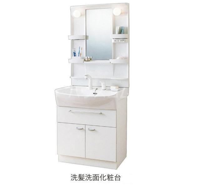 エテルノ貝塚B 01020号室の洗面所