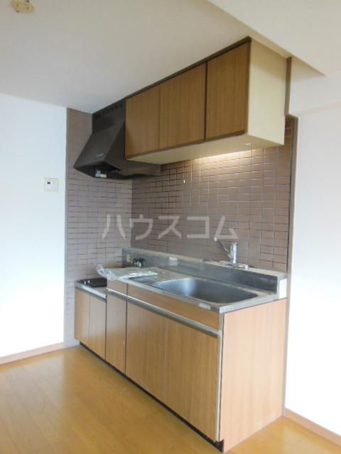 ポリフォニーSUGA 3D号室のキッチン