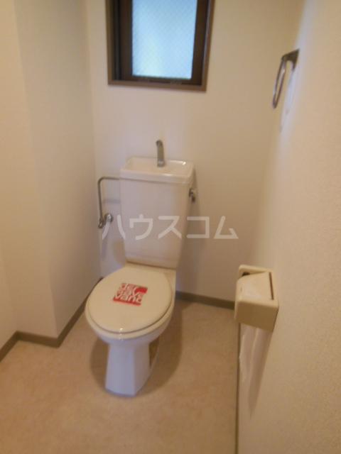 ポリフォニーSUGA 3D号室のトイレ