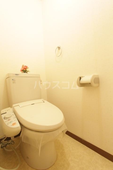 プランドール柿本 1A号室のトイレ