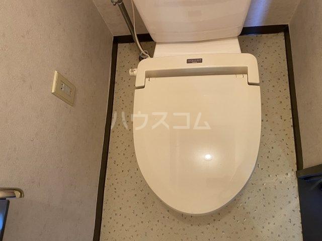 レッドモア 803号室のトイレ