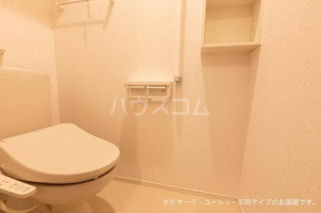 ガーデンハウス 梅の里 C 01010号室のトイレ