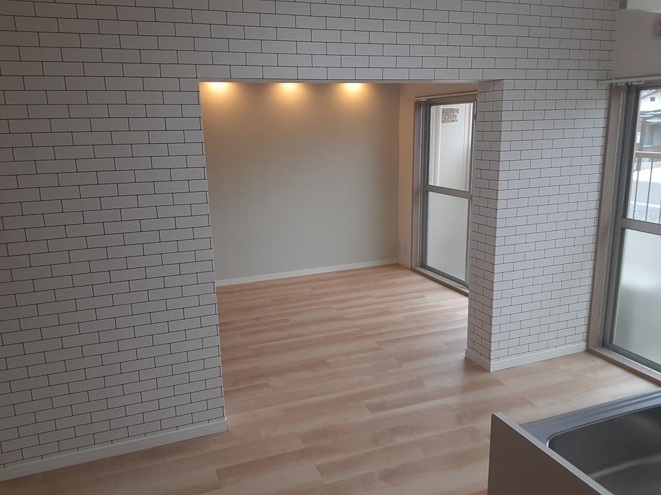 武田マンション 106号室のリビング