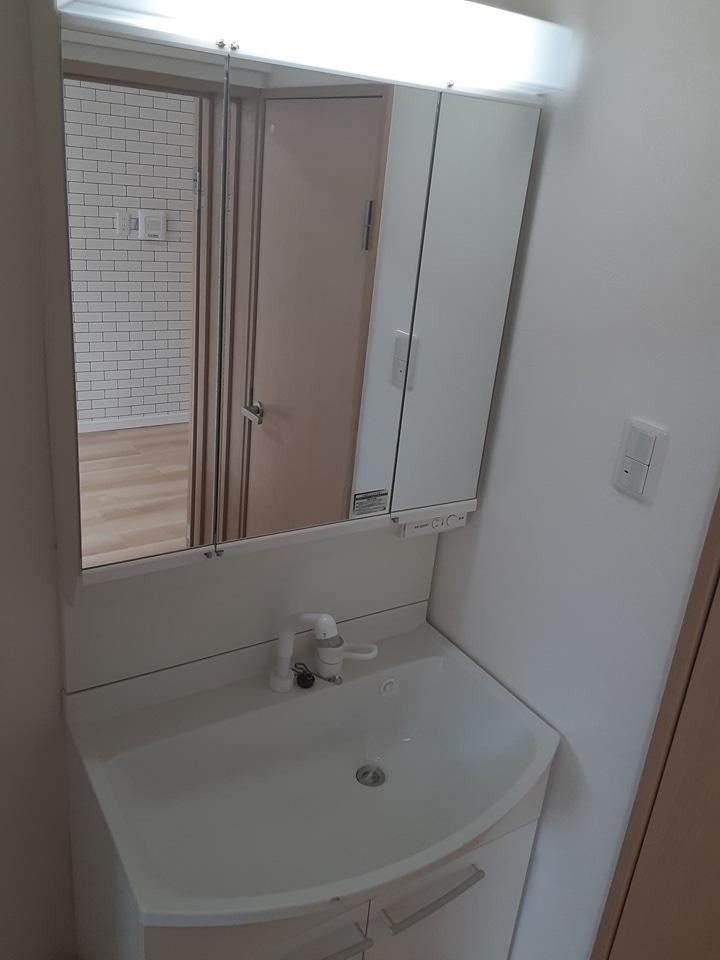 武田マンション 106号室の洗面所