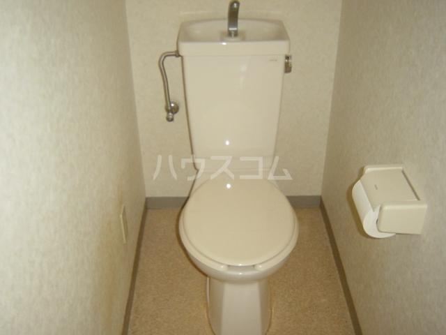 ヴァンベール文ヶ岡Ⅱ 202号室のトイレ
