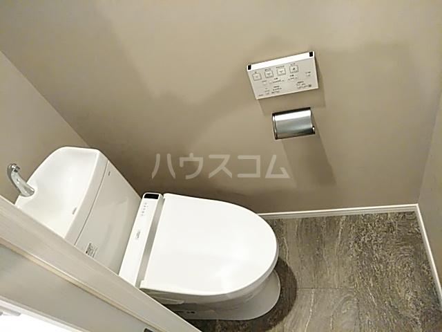 レジディア目白 319号室のトイレ