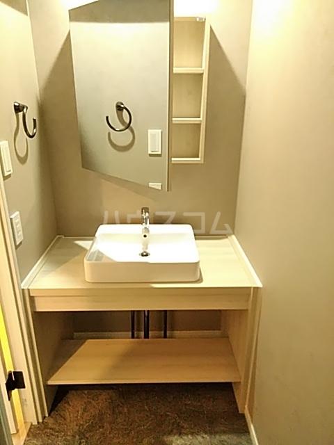レジディア目白 319号室の洗面所