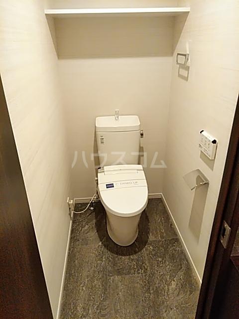 レジディア目白 704号室のトイレ