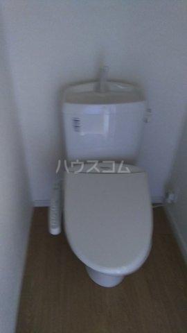 トラウム亀有 202号室のトイレ