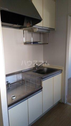 トラウム亀有 202号室のキッチン