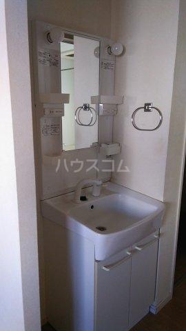 トラウム亀有 202号室の洗面所