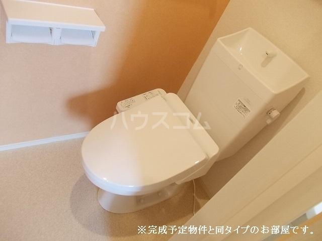 アバンツァート 01020号室のトイレ