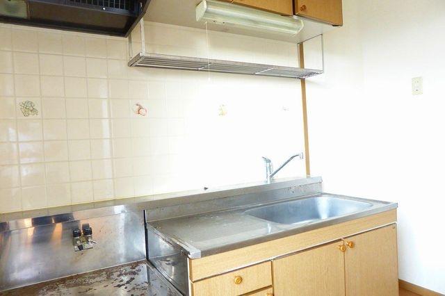 グランプラース 02030号室のキッチン