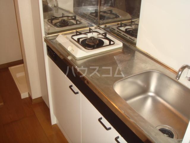 第3ホーメスト桜木 1C号室のキッチン