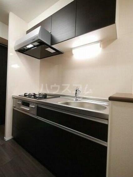 ゴールデン ブラウン 02030号室のキッチン