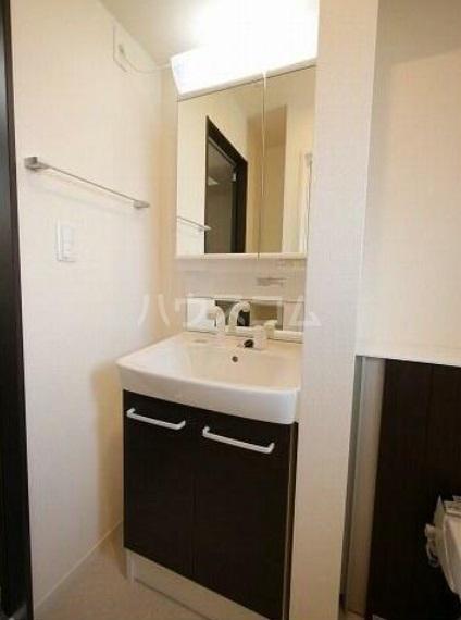 ゴールデン ブラウン 02030号室の洗面所