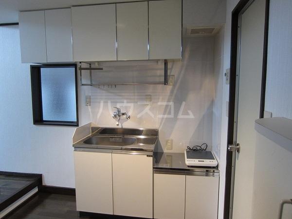 ル・ブラン 109号室のキッチン