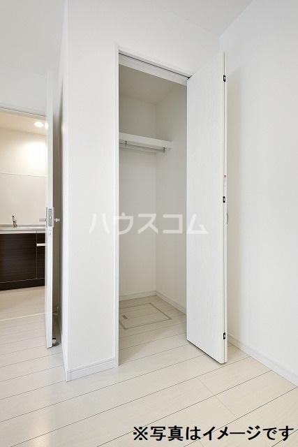Luana 202号室の収納