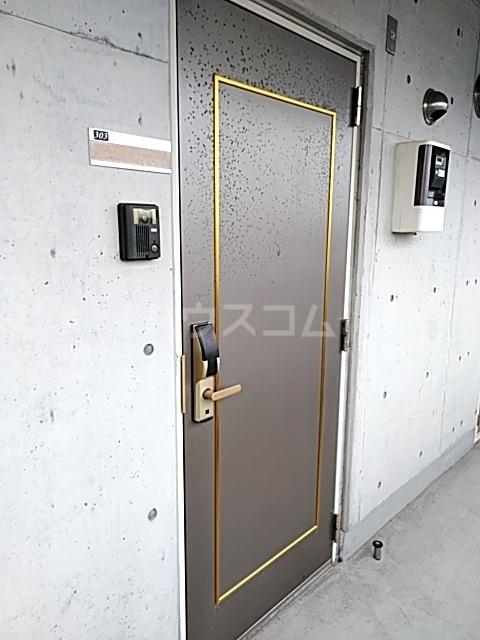 是空 303号室の玄関