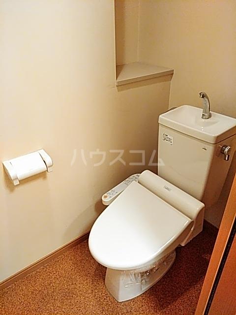 是空 303号室のトイレ