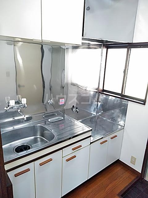 プラザハシモト 201号室のキッチン