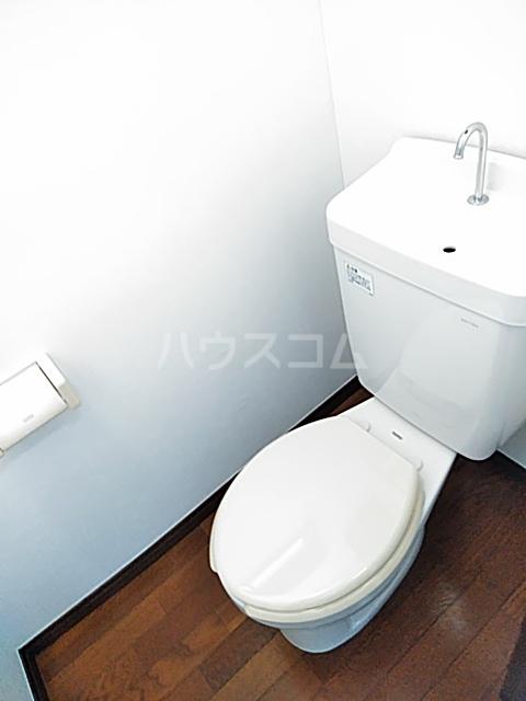 プラザハシモト 201号室のトイレ