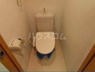 コンフィアンサ等々力 304号室のトイレ