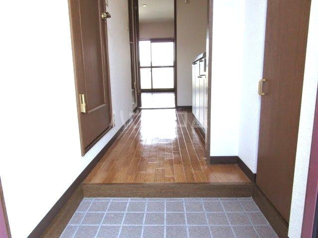 カウベルⅢ 506号室の玄関
