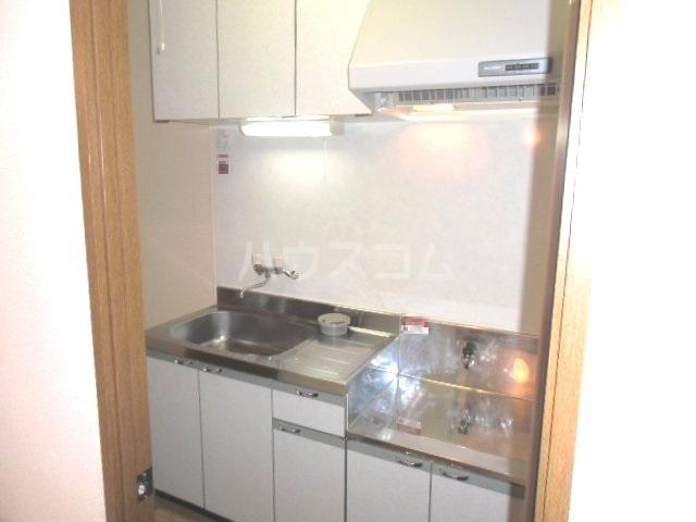 カウベルⅢ 506号室のキッチン