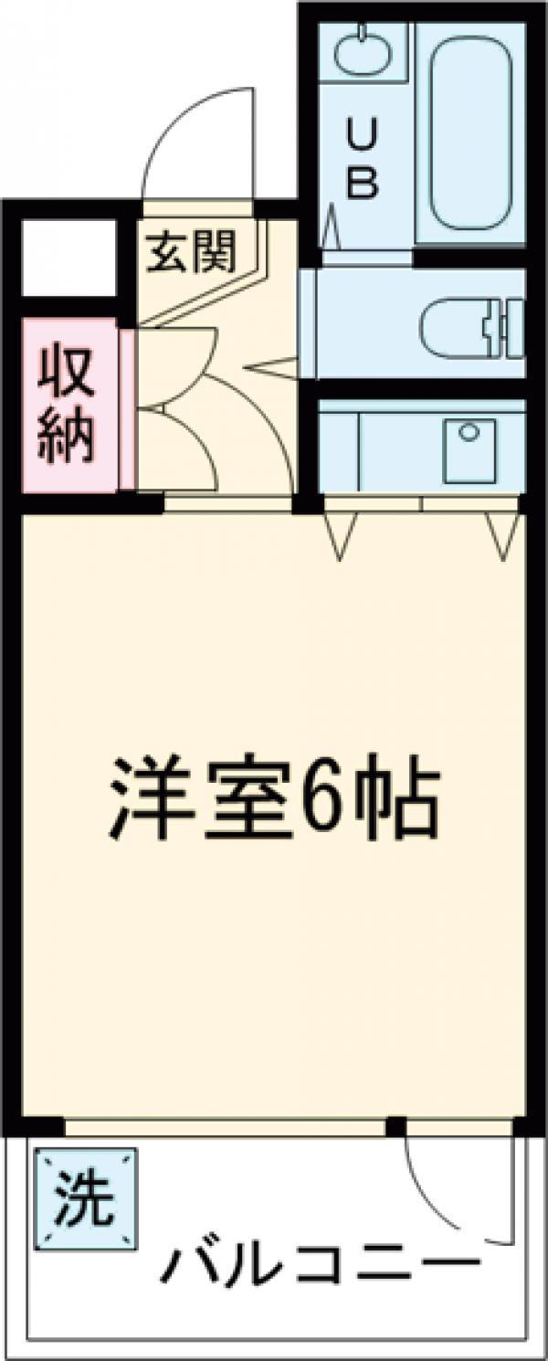 アティクス吉祥寺・102号室の間取り