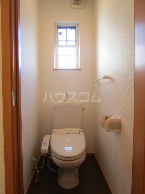 西国分寺メゾネットのトイレ
