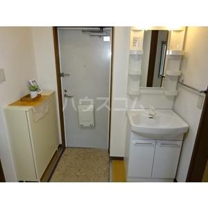 ルシエール八神 1B号室の洗面所