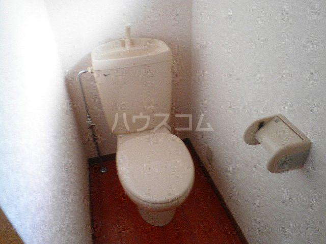 タウンエステート川島のトイレ