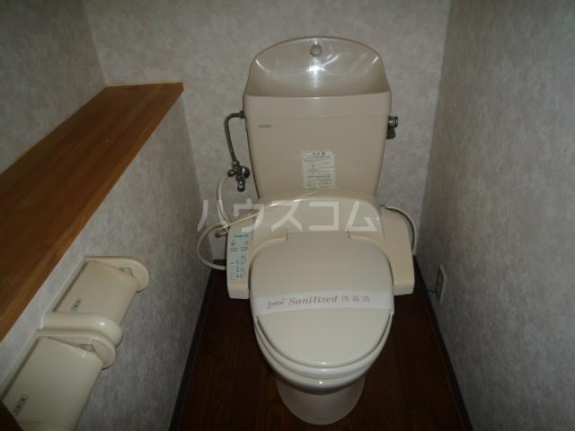 サンフィット21 103号室のトイレ
