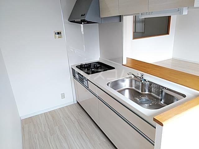 プリマリア・ノール 105号室のキッチン