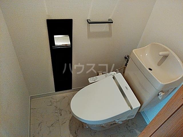 プリマリア・ノール 105号室のトイレ