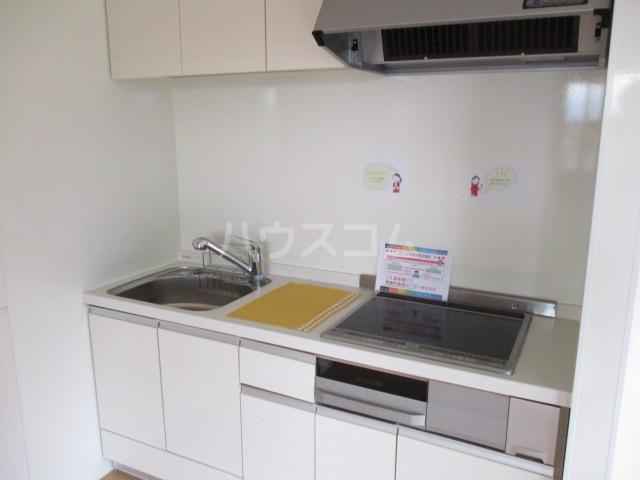 コモレビ大蔵E棟 202号室のキッチン