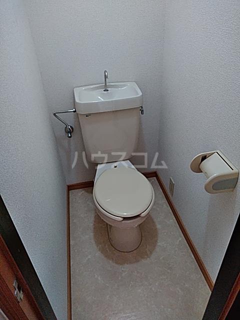 ハイツ早明 203号室のトイレ