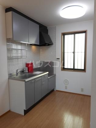 カサベルデA 102号室のキッチン