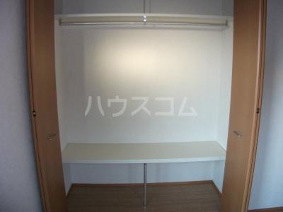カサベルデA 102号室の収納