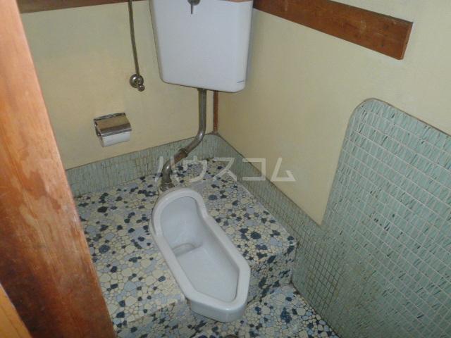 幸荘 3号室のトイレ