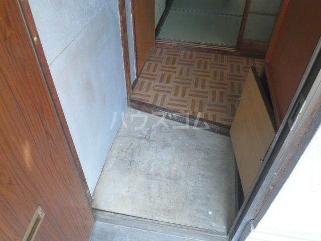 幸荘 3号室の玄関