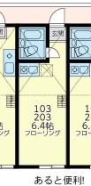ユナイトステージ井土ヶ谷弐番館・203号室の間取り