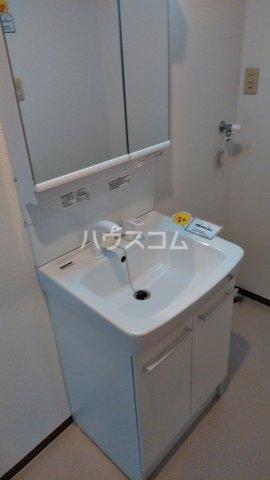 石川ハイツ 102号室の洗面所